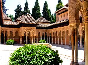 Granada, Cordoba, Seville, Ronda, Malaga reachable within 1½ hours
