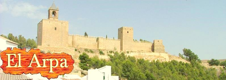 The Moorish castle in Antequera