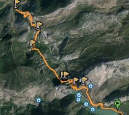 Caminito del Rey - southern access